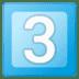 3️⃣ keycap: 3 Emoji on Google Platform