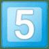 5️⃣ keycap: 5 Emoji on Google Platform
