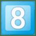 8️⃣ keycap: 8 Emoji on Google Platform
