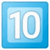 🔟 keycap: 10 Emoji on Google Platform