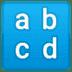 🔡 input latin lowercase Emoji on Google Platform