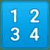 🔢 input numbers Emoji on Google Platform