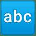 🔤 input latin letters Emoji on Google Platform