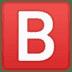 🅱️ Taste B (Blutgruppe) Emoji auf Google-Plattform
