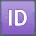 🆔 ID Button Emoji on Google Platform