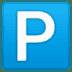 🅿️ P button Emoji on Google Platform