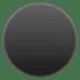 ⚫ Black Circle Emoji on Google Platform