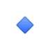 🔹 small blue diamond Emoji on Google Platform