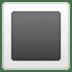 🔳 white square button Emoji on Google Platform