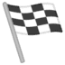 🏁 chequered flag Emoji on Google Platform