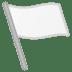 🏳️ white flag Emoji on Google Platform