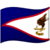 🇦🇸 flag: American Samoa Emoji on Google Platform