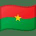 🇧🇫 flag: Burkina Faso Emoji on Google Platform