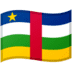 🇨🇫 flag: Central African Republic Emoji on Google Platform