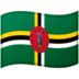 🇩🇲 Dominica Flag Emoji on Google Platform