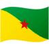 🇬🇫 French Guiana Flag Emoji on Google Platform