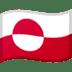 🇬🇱 flag: Greenland Emoji on Google Platform
