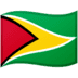 🇬🇾 flag: Guyana Emoji on Google Platform