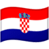 🇭🇷 flag: Croatia Emoji on Google Platform