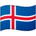 🇮🇸 flag: Iceland Emoji on Google Platform