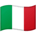 🇮🇹 flag: Italy Emoji on Google Platform