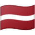 🇱🇻 flag: Latvia Emoji on Google Platform