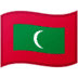 🇲🇻 flag: Maldives Emoji on Google Platform