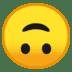 🙃 Upside Down Face Emoji on Google Platform