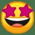 🤩 star-struck Emoji on Google Platform