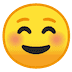 ☺️ Smiling Face Emoji on Google Platform