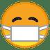 😷 face with medical mask Emoji on Google Platform