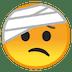🤕 face with head-bandage Emoji on Google Platform