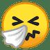🤧 Sneezing Face Emoji on Google Platform