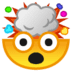 🤯 exploding head Emoji on Google Platform