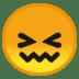 😖 Confounded Face Emoji on Google Platform