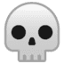 💀 Skull Emoji on Google Platform