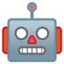 🤖 robot Emoji on Google Platform