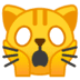 🙀 Weary Cat Emoji on Google Platform
