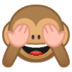 🙈 see-no-evil monkey Emoji on Google Platform