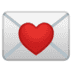 💌 love letter Emoji on Google Platform