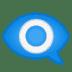 👁️🗨️ eye in speech bubble Emoji on Google Platform
