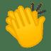 👏 Mga Kamay na Pumapalakpak Emoji sa Google Platform