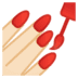 💅🏻 nail polish: light skin tone Emoji on Google Platform