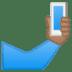 🤳🏽 selfie: medium skin tone Emoji on Google Platform
