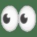 👀 Yeux Emoji sur la plateforme Google