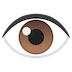 👁️ Ojo Emoji en plataforma Google