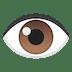 👁️ œil Emoji sur la plateforme Google