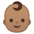 👶🏽 baby: medium skin tone Emoji on Google Platform