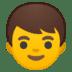 👦 Boy Emoji on Google Platform