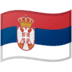 🇷🇸 flag: Serbia Emoji on Google Platform